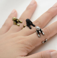 Poodle Wrap Ring
