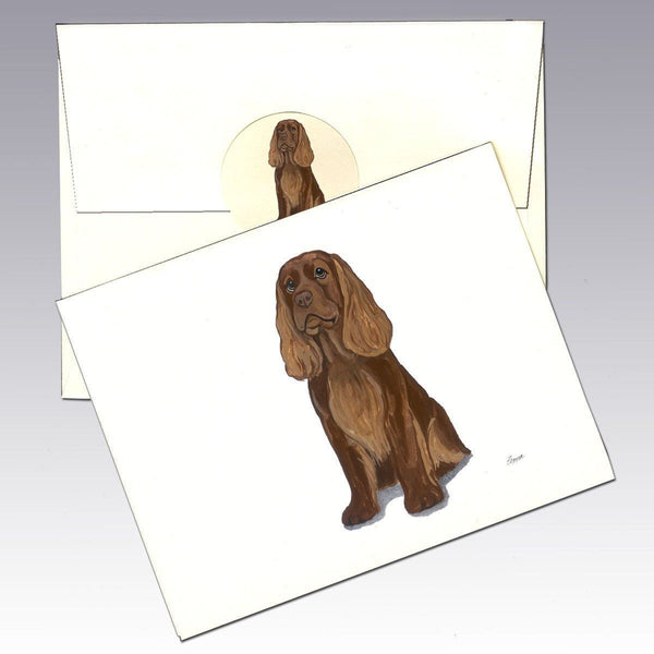 Sussex Spaniel Note Cards