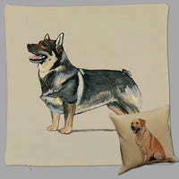 Swedish Vallhund Pillow Cover