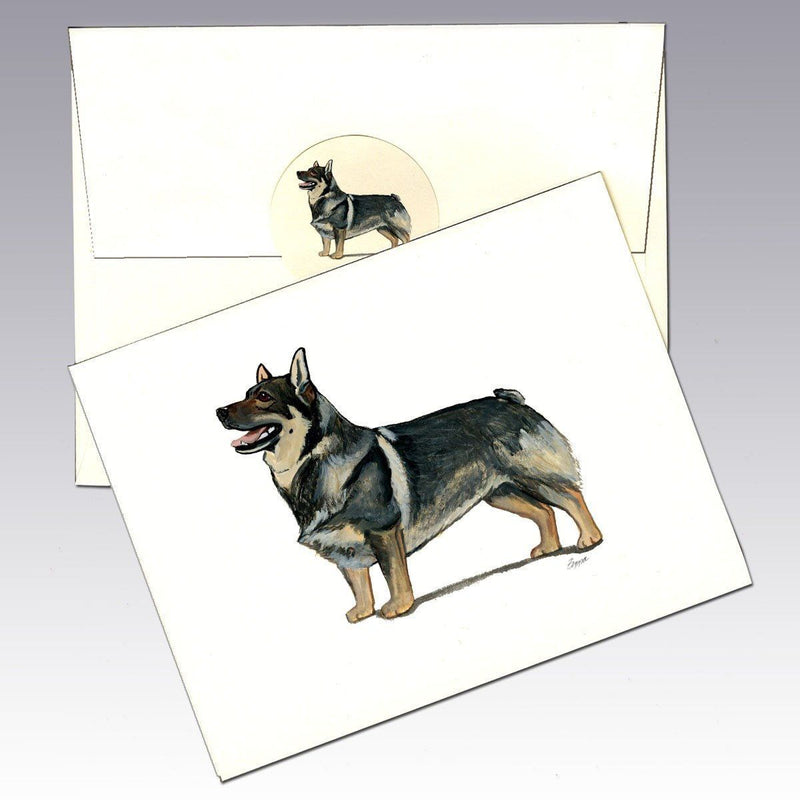 Swedish Vallhund Note Cards