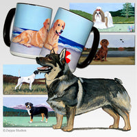 Swedish Vallhund Scenic Mug