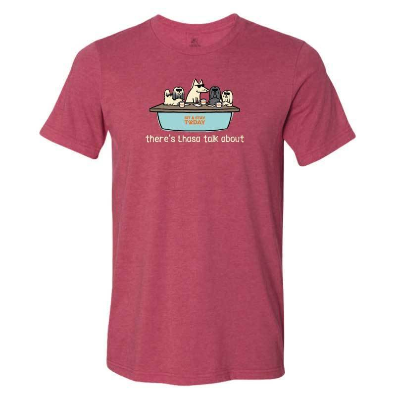 There's Lhasa Talk About - Lightweight Tee