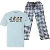 This Is Your Wake Up Collie - Pajama Set