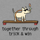 Together Through Trick & Win - Ladies Shirt 3-4 Sleeve