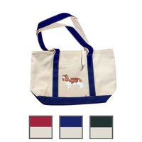Hand-Painted Dog Breed Tote Bag - Toy Group