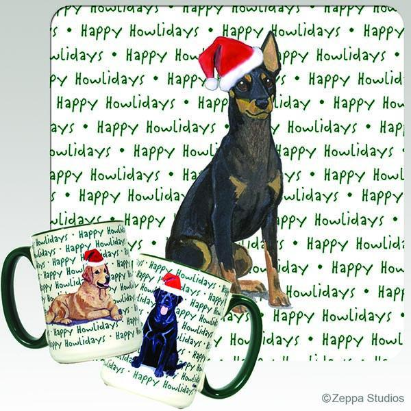 Toy Manchester Terrier Holiday Mug