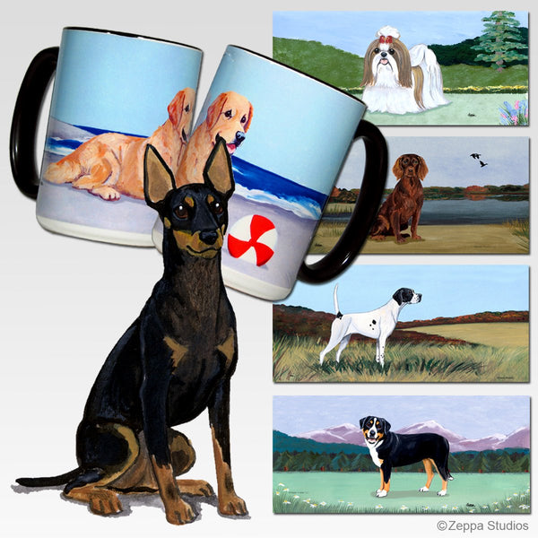 Toy Manchester Terrier Scenic Mug