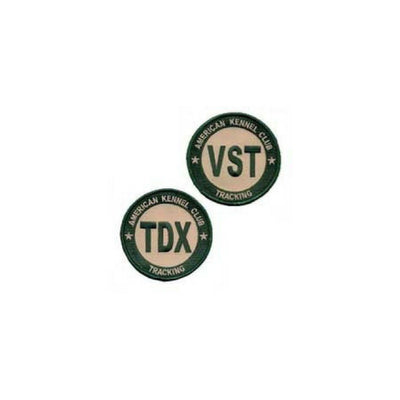 AKC Tracking Title Patches