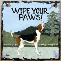 Treeing Walker Coonhound Slate Sign