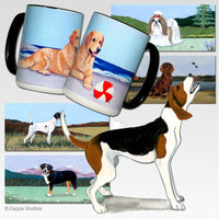 Treeing Walker Coonhound Scenic Mug