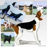 Treeing Walker Coonhound Scenic Coaster