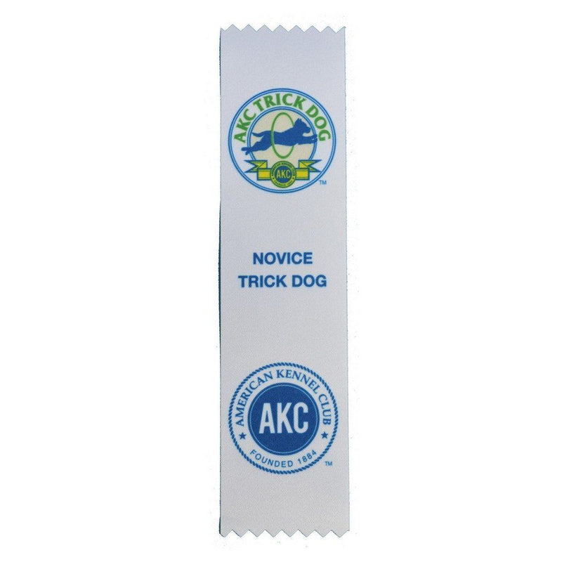 AKC Trick Dog Ribbons (10 Pack)