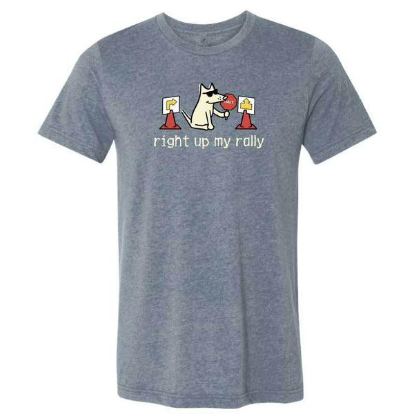 Right Up My Rally - Lightweight Tee