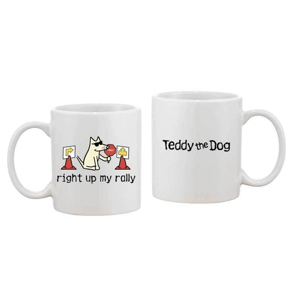 Right Up My Rally - Coffee Mug