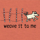 weave it to me lightweight t-shirt