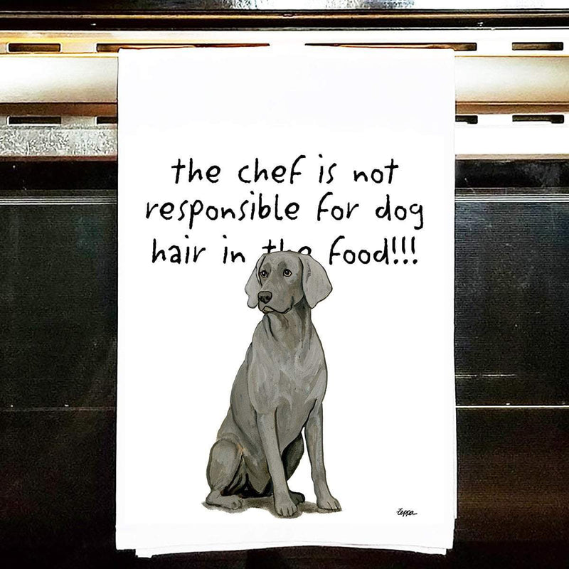 Weimaraner Tea Towel