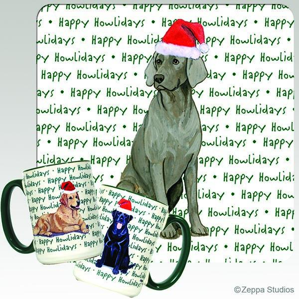 Weimaraner Holiday Mug