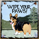 Pembroke Welsh Corgi Slate Sign