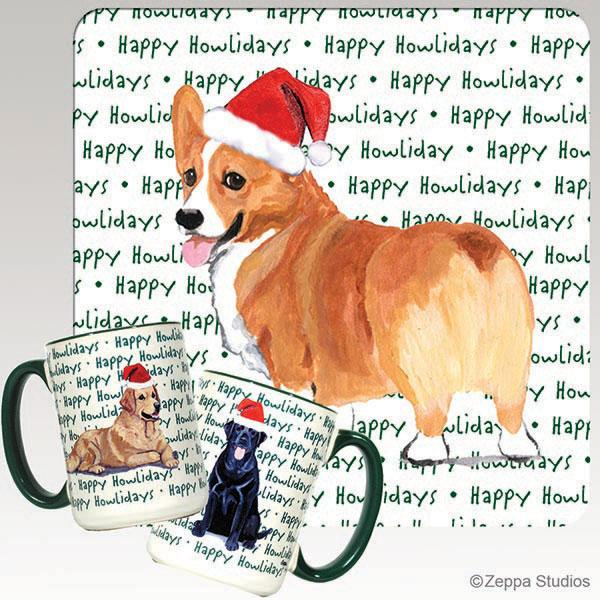 Pembroke Welsh Corgi Holiday Mug