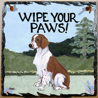 Welsh Springer Spaniel Slate Sign