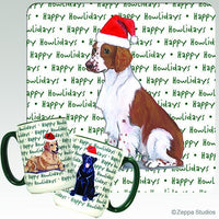 Welsh Springer Spaniel Holiday Mug