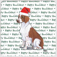 "Welsh Springer Spaniel ""Happy Howlidays"" Coaster"