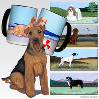Welsh Terrier Scenic Mug