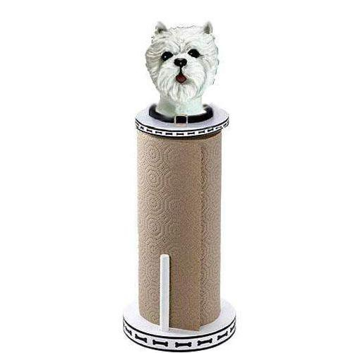 West Highland White Terrier Paper Towel Holder