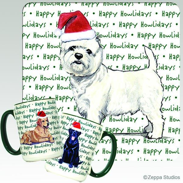 West Highland White Terrier Holiday Mug