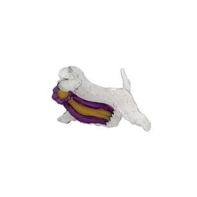 Hand-Painted West Highland White Terrier Pin