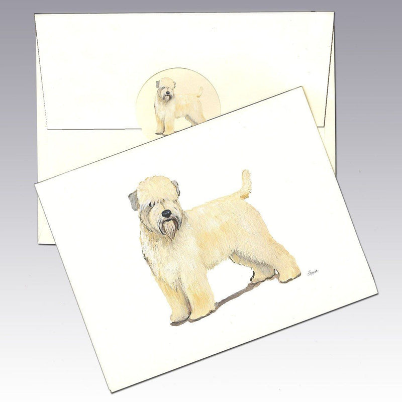 Wheaten Terrier (Soft Coated) Note Cards