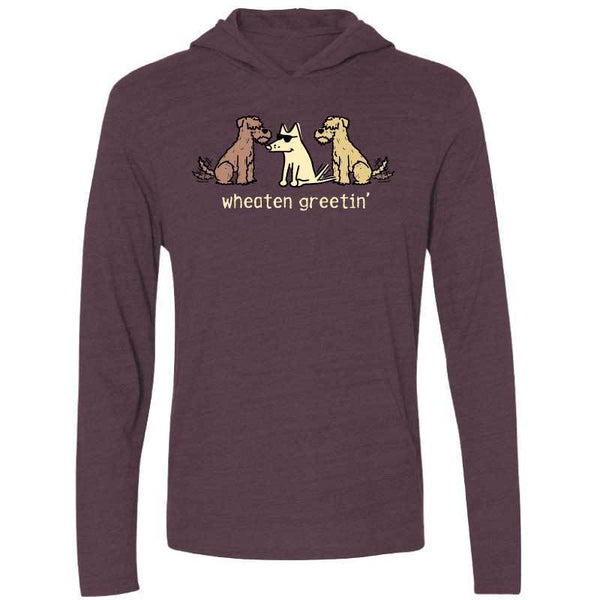 Wheaten Greetin' - Long-Sleeve Hoodie Shirt