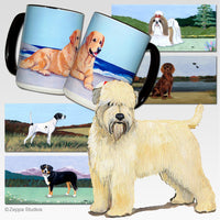 Wheaten Terrier (Soft Coated) Scenic Mug