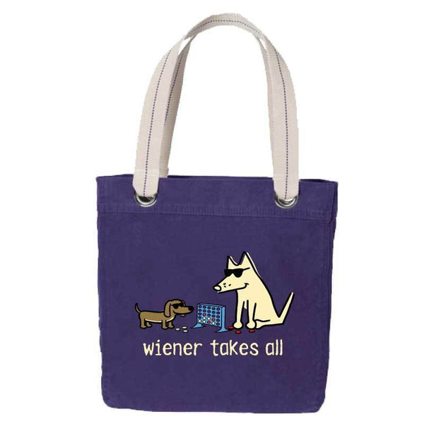 Wiener Takes All - Canvas Tote