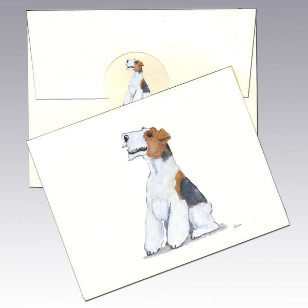 Wire Hair Fox Terrier Note Cards