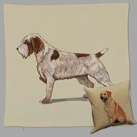 Wirehaired Pointing Griffon Pillow Cover