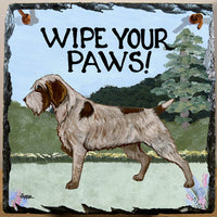 Wirehaired Pointing Griffon Slate Sign