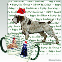 Wirehaired Pointing Griffon Holiday Mug
