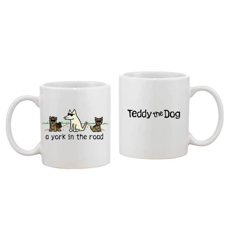 A York In The Road - Coffee Mug