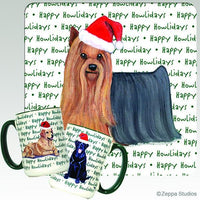 Yorkshire Terrier Holiday Mug