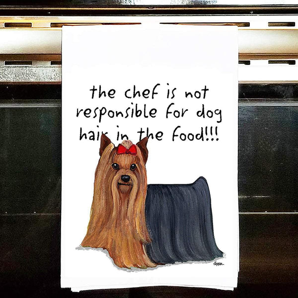 Yorkshire Terrier Tea Towel