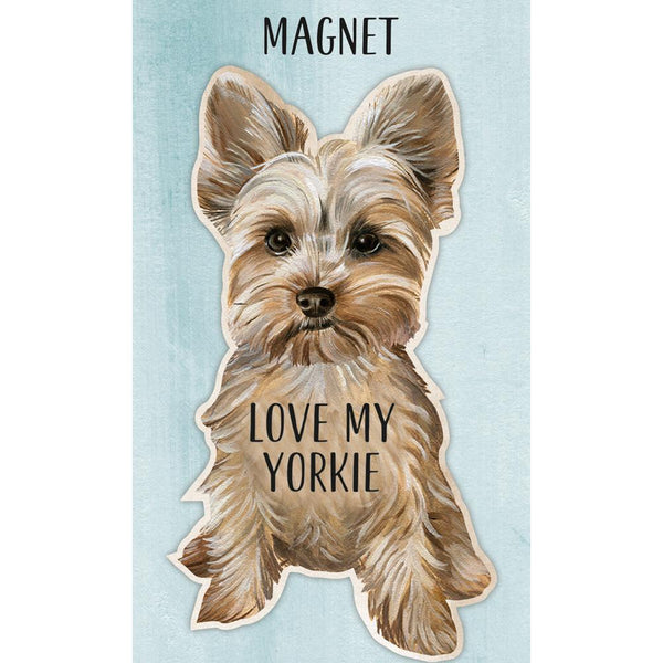 I Love My Yorkie Magnet Akc Shop