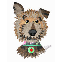 Reed Evins Yorkshire Terrier Dog Collage