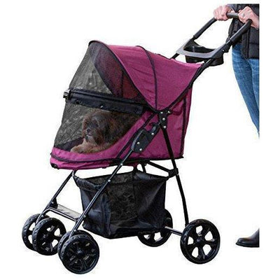 No-Zip, Easy Entry Dog Stroller