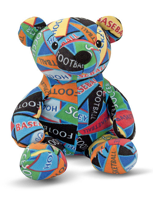 Melissa & Doug Zach Sports Bear