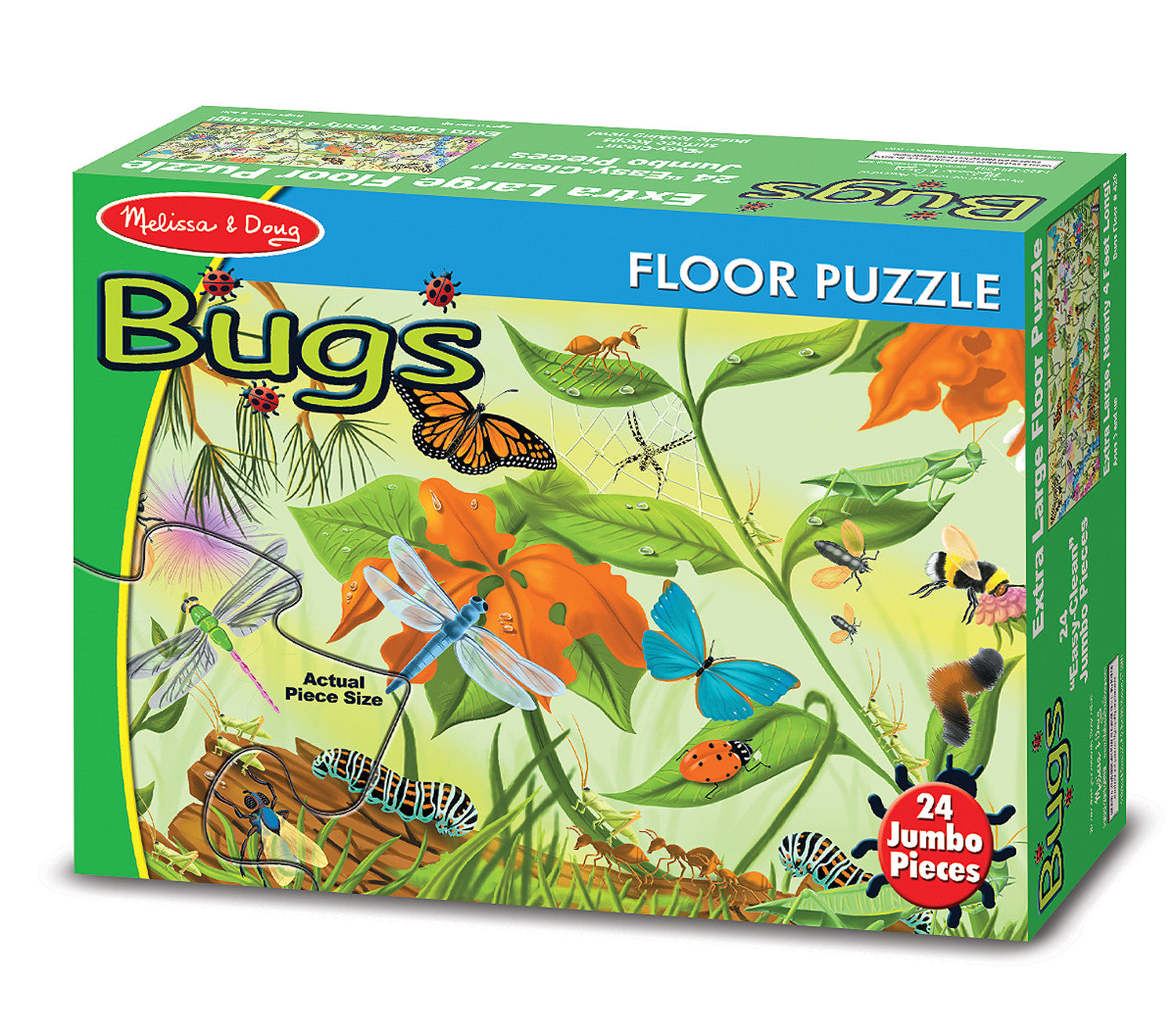 Melissa & Doug Bugs Floor (24 pc)