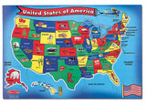 Melissa & Doug U.S.A. Map Floor (51 pc) 440