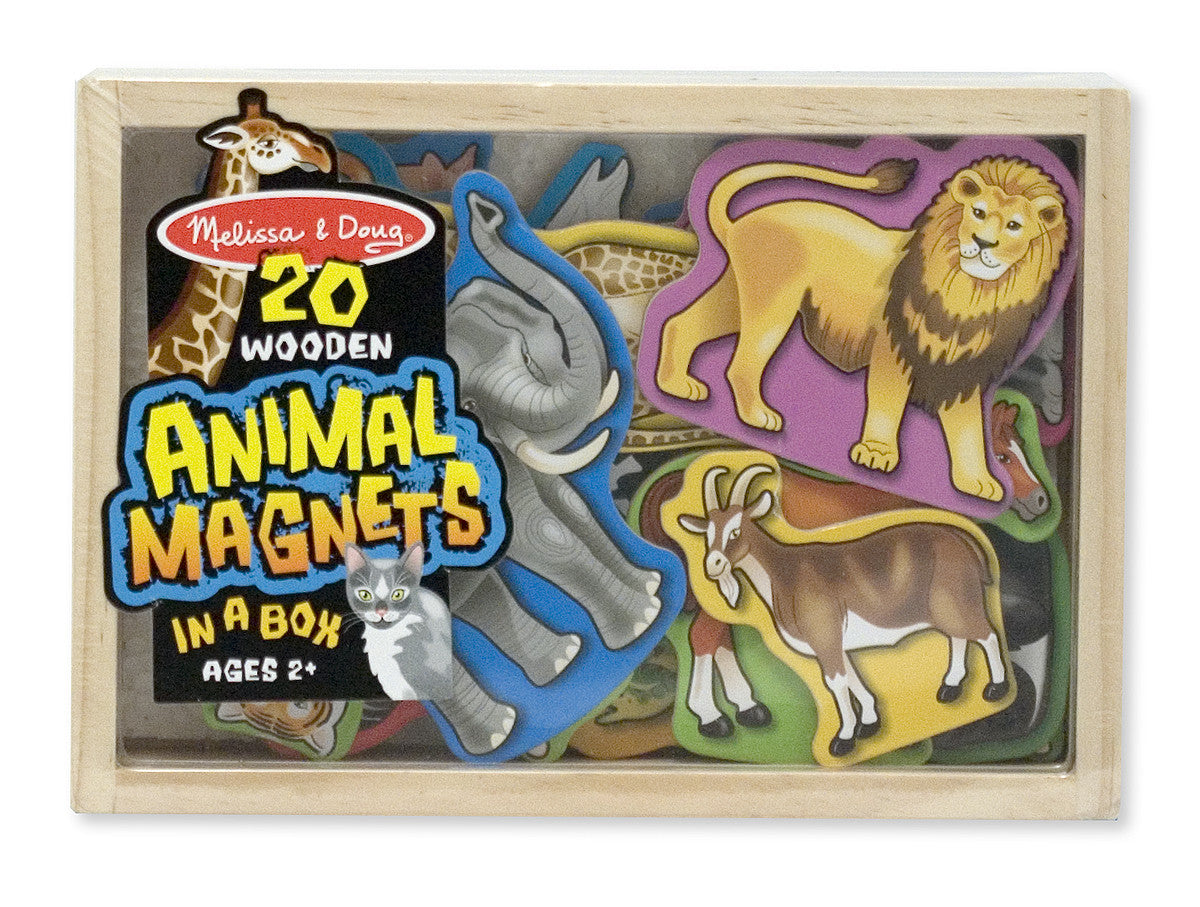 Melissa & Doug Wooden Animal Magnets 475
