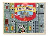 Melissa & Doug Castle Blocks Play Set 532