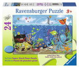 Ravensburger Children's Puzzles 24 pc Super Sized Floor Puzzles - Underwater Treasure 5430